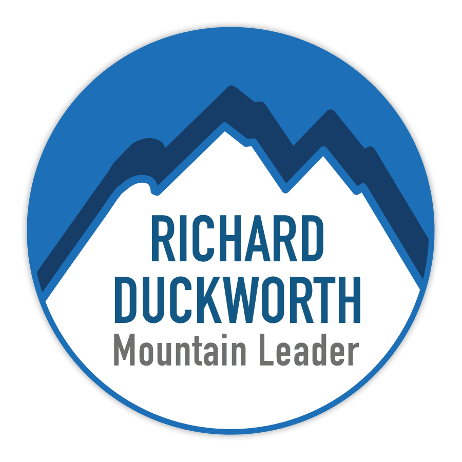 Richard Duckworth logo transparent with glow