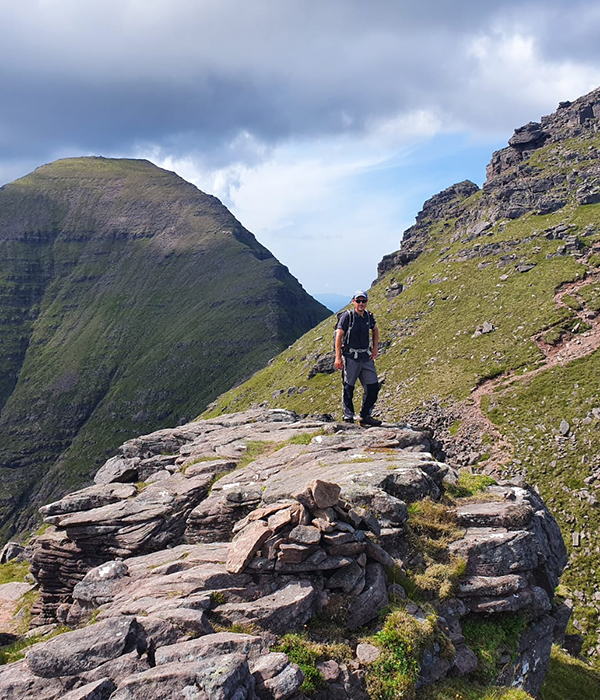 Photo of Richard Duckworth ML in Torridon