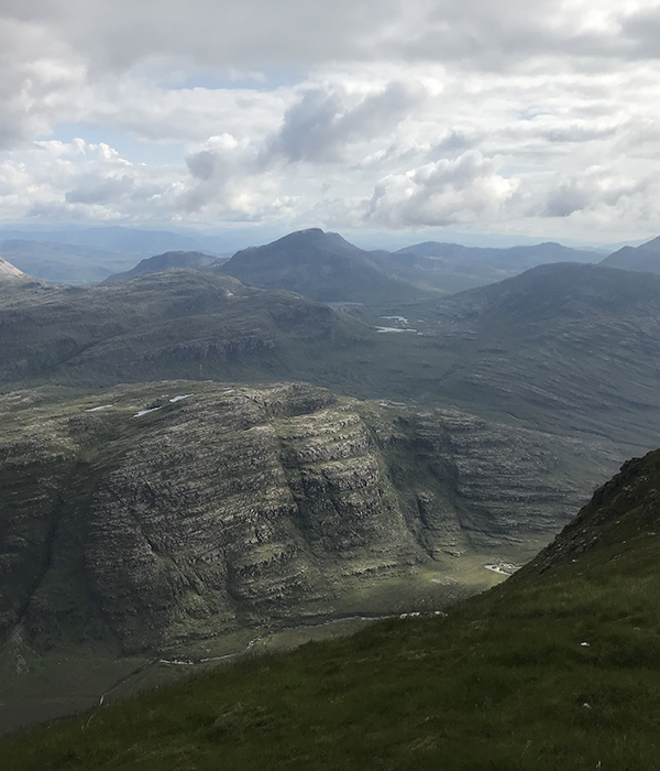 Photo of the Torridon Mountain range in NW Scotland